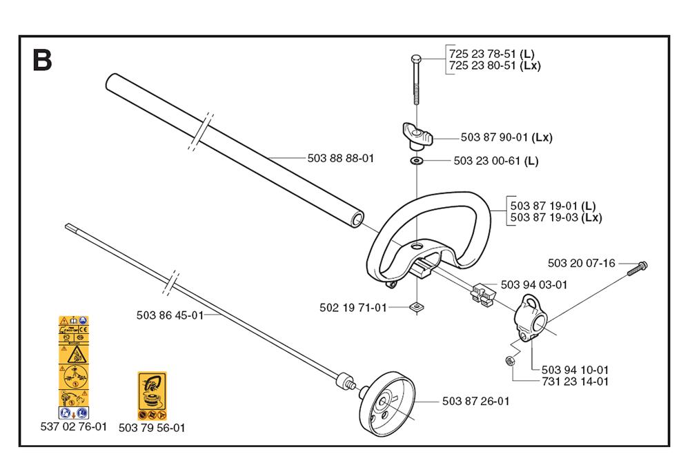 Husqvarna Brushcutter Parts