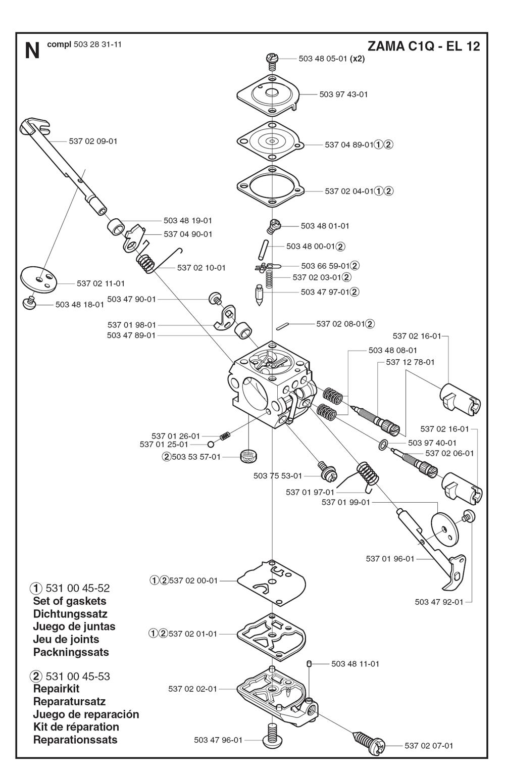 326SX-Husqvarna-PB-7Break Down