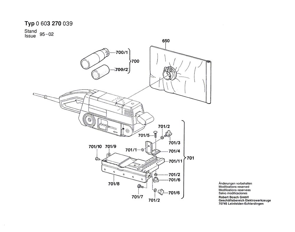 3270D(0603270039)-bosch-PB-1Break Down