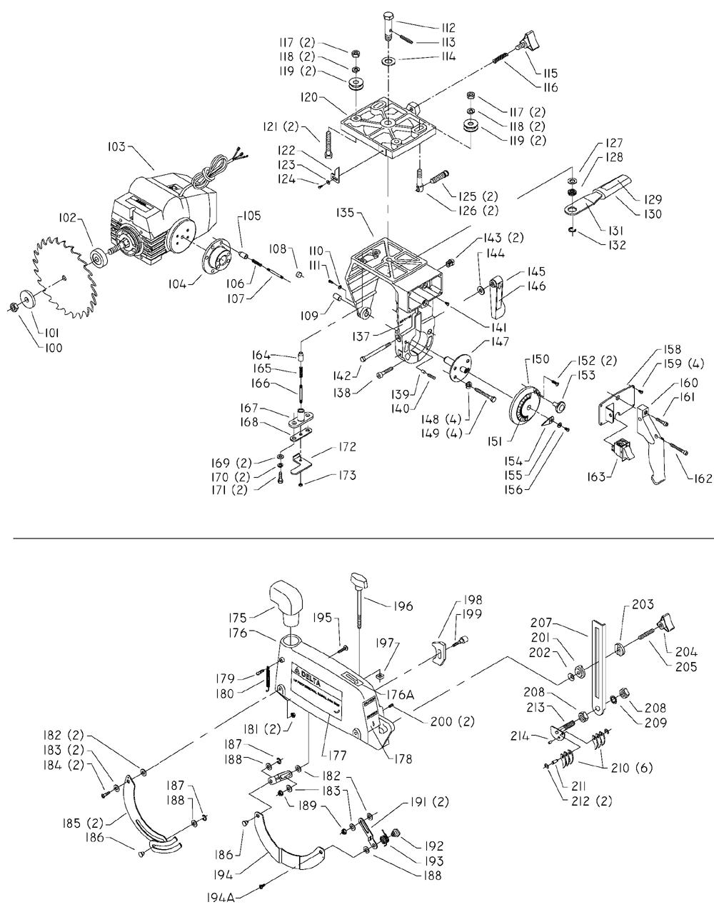 33-830-T2-Delta-PB-1Break Down