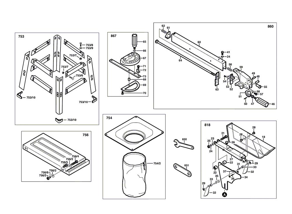 3300-(F012330000)-Skil-PB-1Break Down