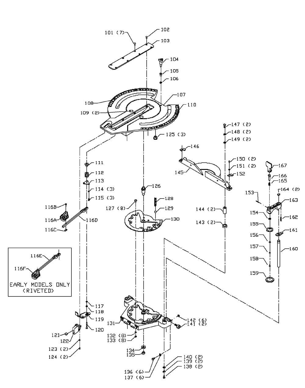 Delta-36-250-Type-2-Parts-1990-PBBreak Down