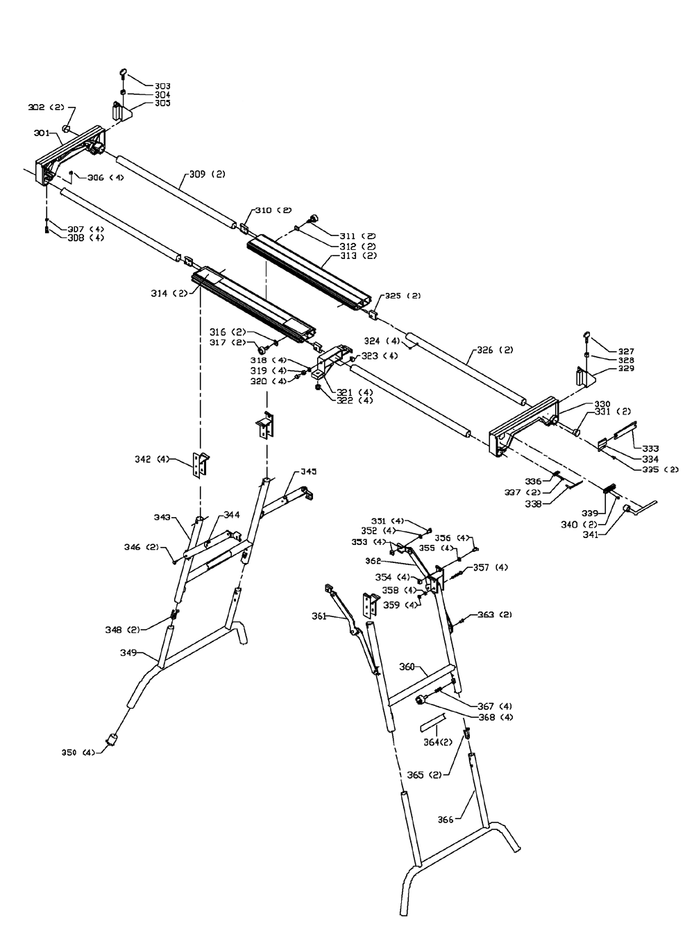 Delta-36-250-Type-2-Parts-1992-PBBreak Down