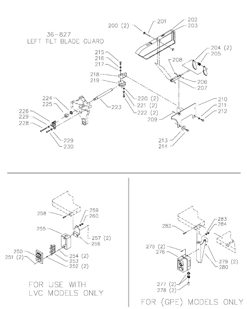 Delta-36-953-Type-2-Parts-3642-PBBreak Down