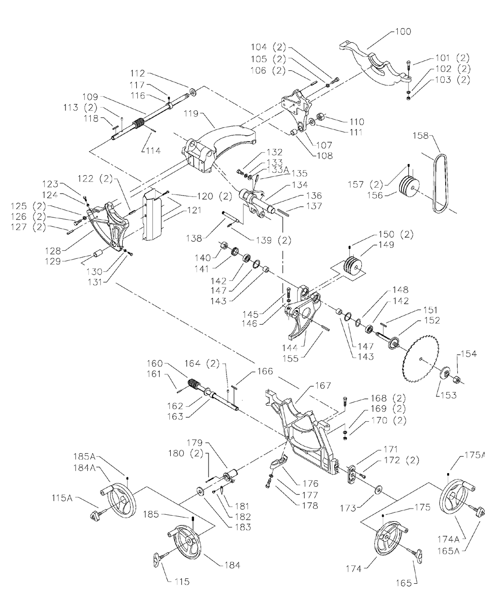 Delta-36-953-Type-2-Parts-3643-PBBreak Down