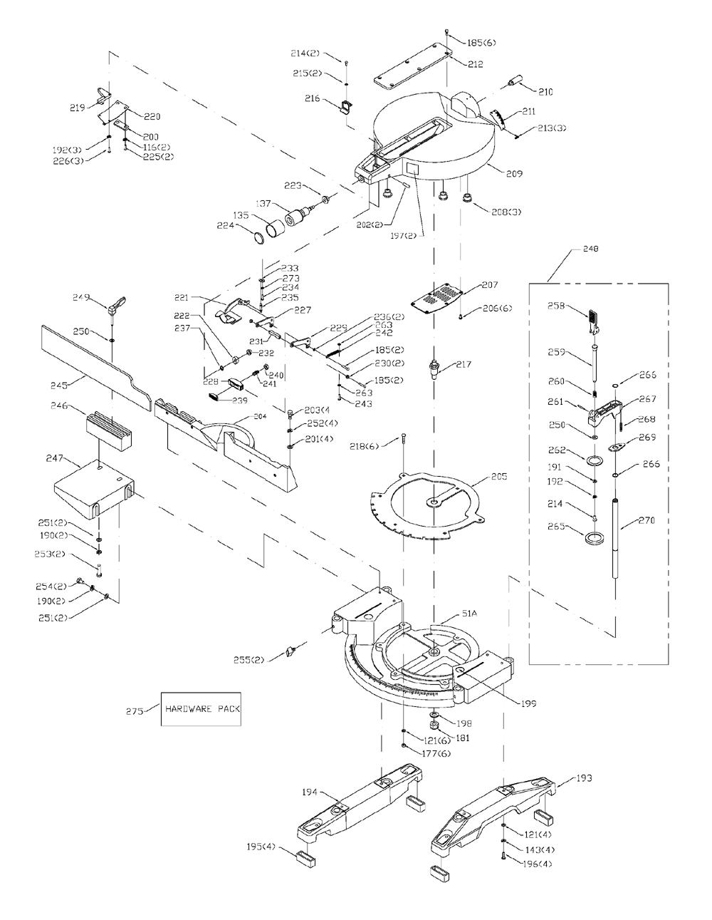 3802-Porter-Cable-T1-PB-1Break Down