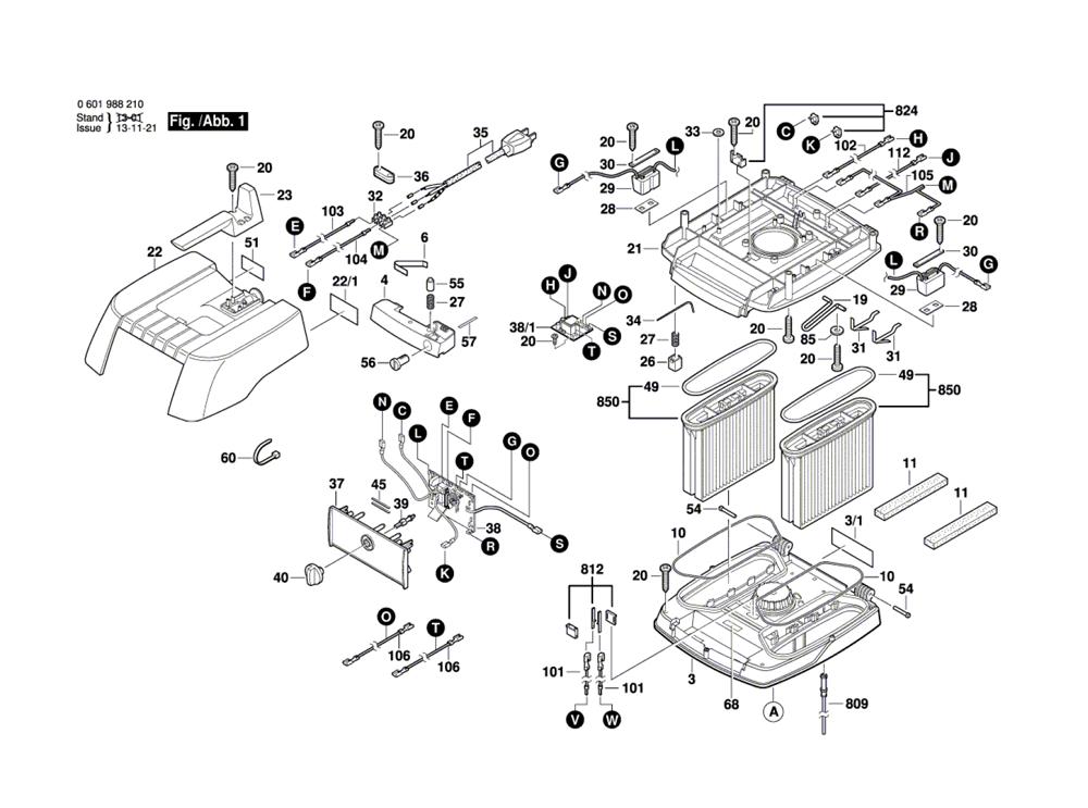 Vacuum Parts Bosch Vacuum Parts