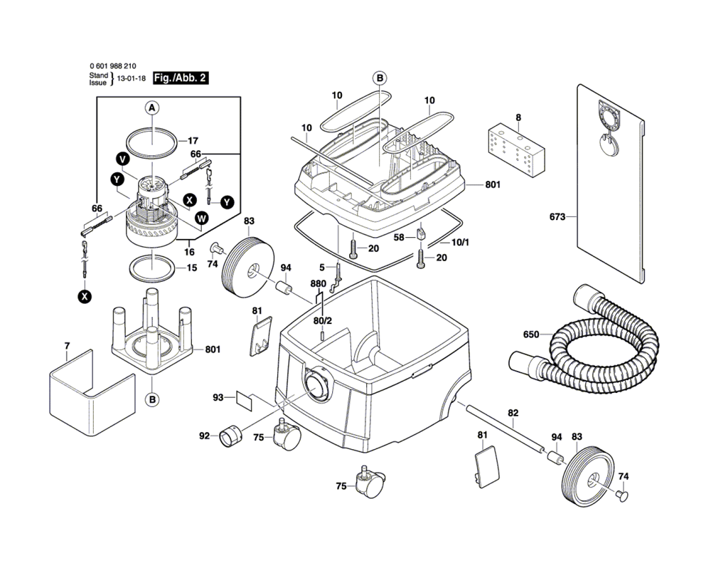 3931B-SPB-(0601988210)-Bosch-PB-1Break Down