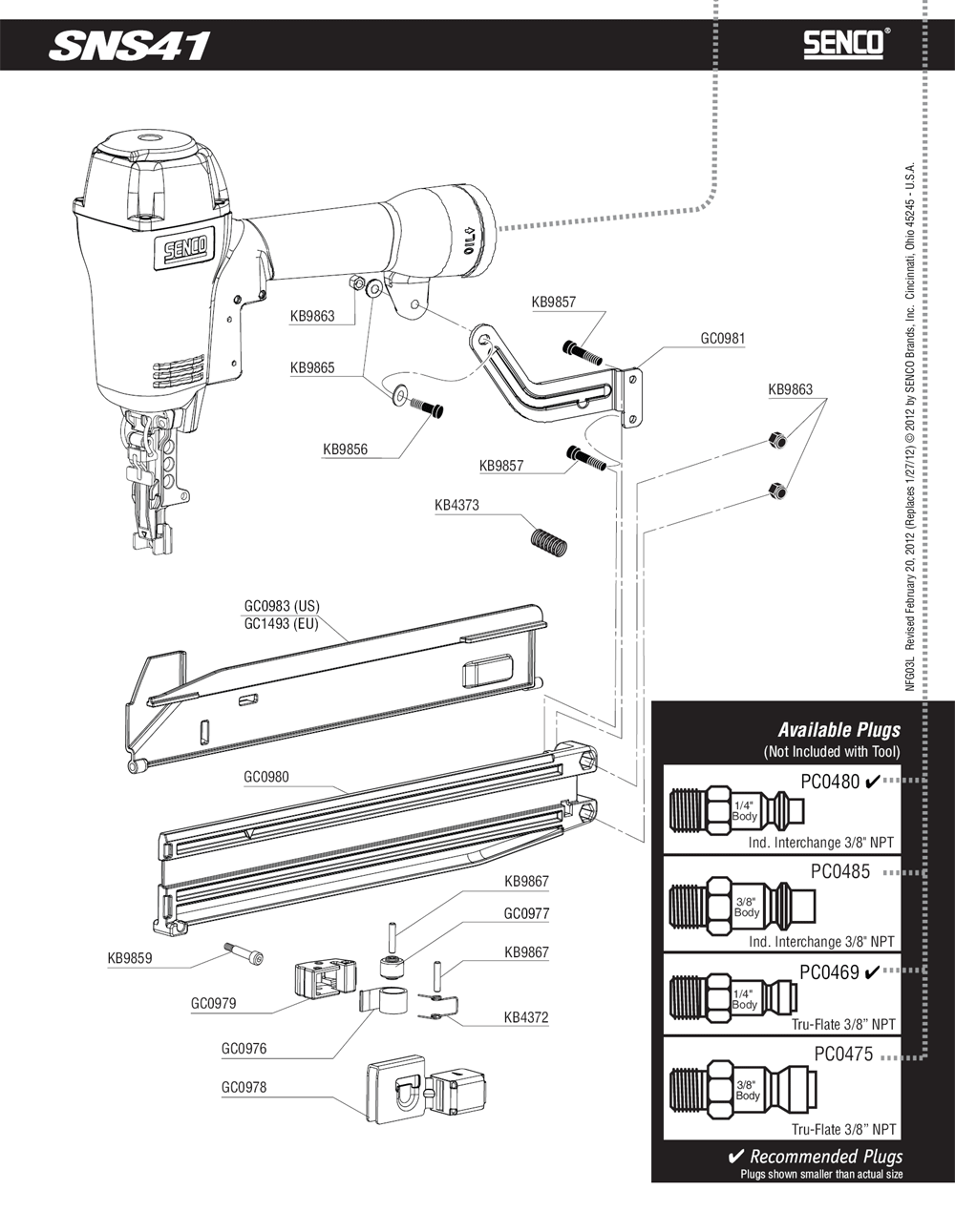 3L0003N-senco-PB-1Break Down
