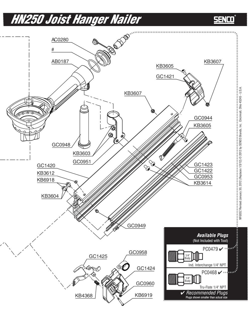 3Z0001N-senco-PB-1Break Down