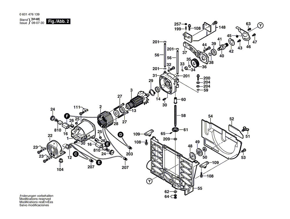 4000(0601476139)-bosch-PB-1Break Down