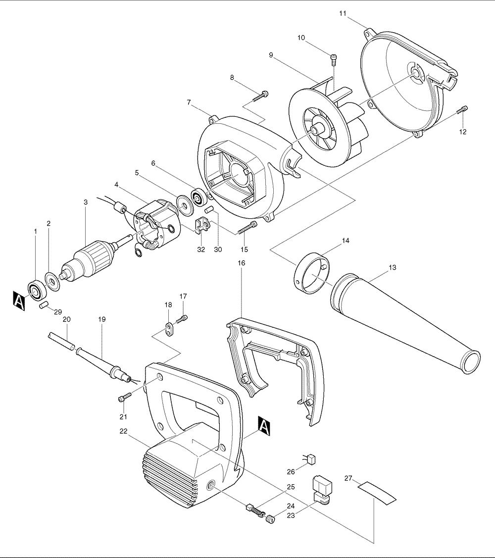 Blower Fan Wiring Diagram For Light