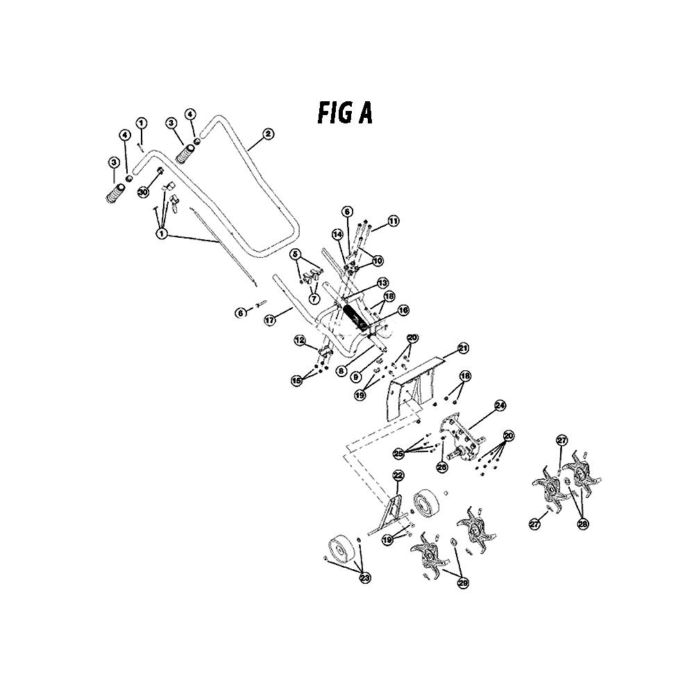 Mantis Tiller Parts Diagram Model 21a : Mantis tiller parts diagram model a circuit maker