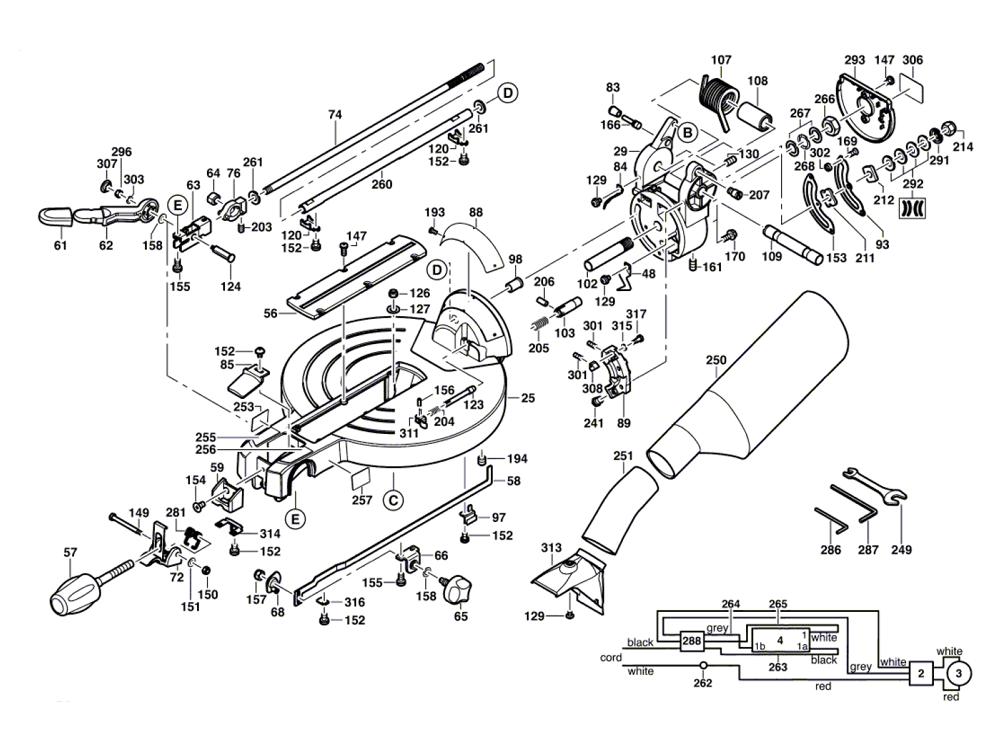 4212-(060166F035)-Bosch-PB-1Break Down