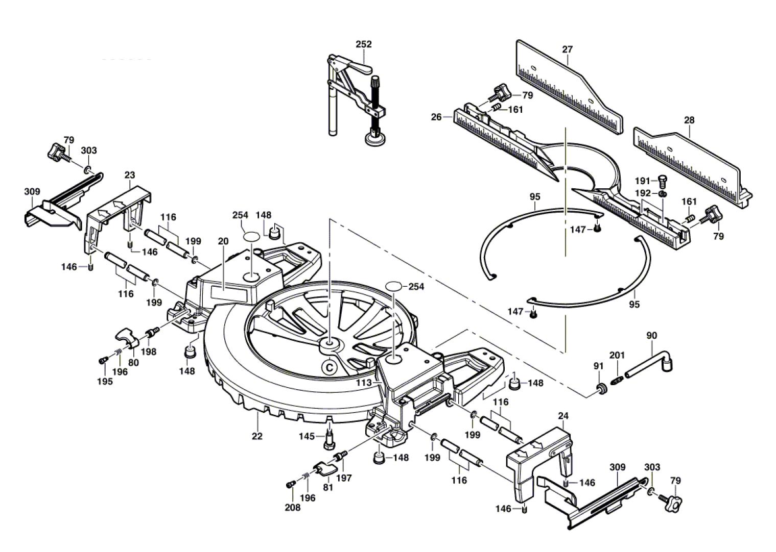 4212-(060166F035)-Bosch-PB-2Break Down