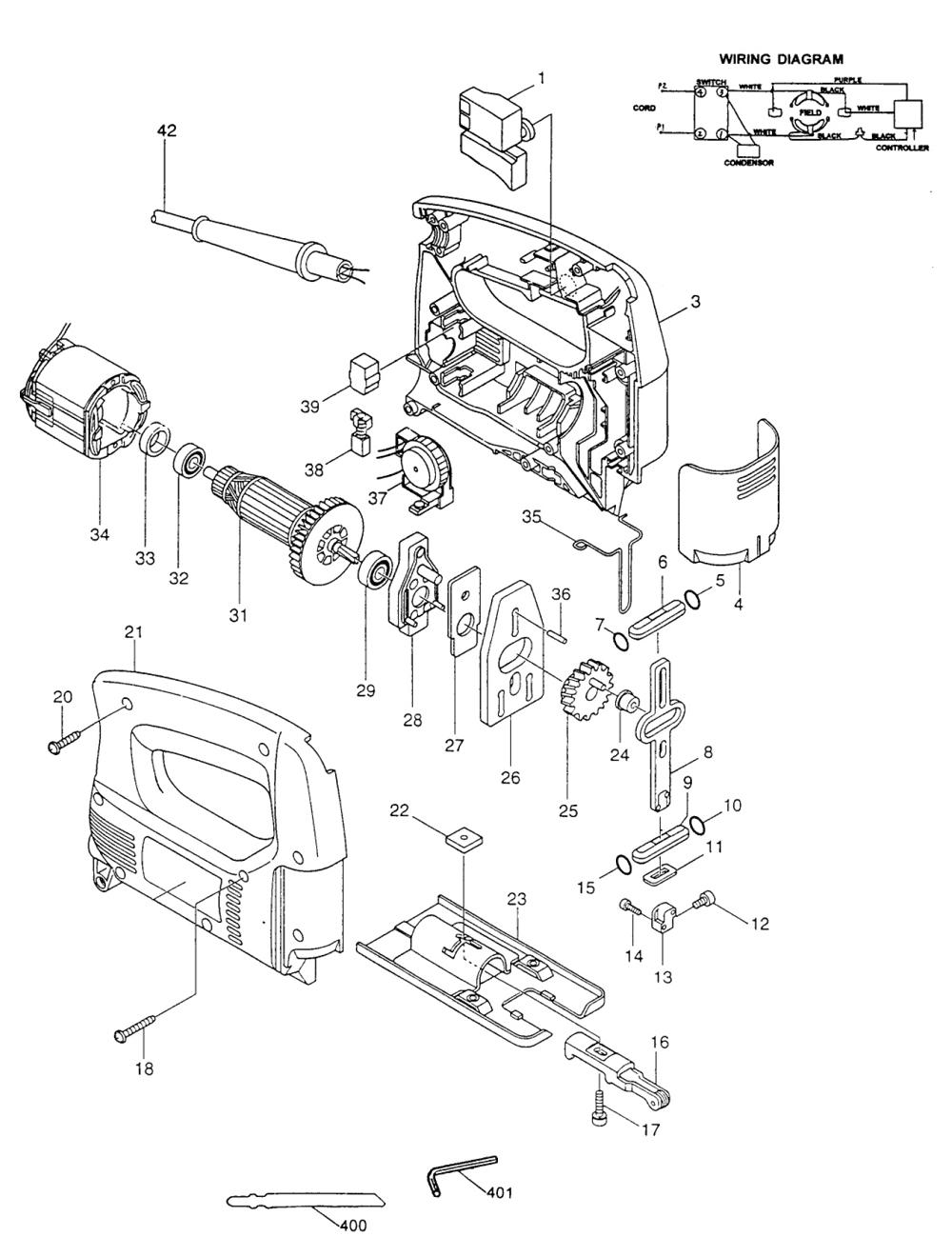 Case Drill Parts : Buy makita k jig spm var spd case