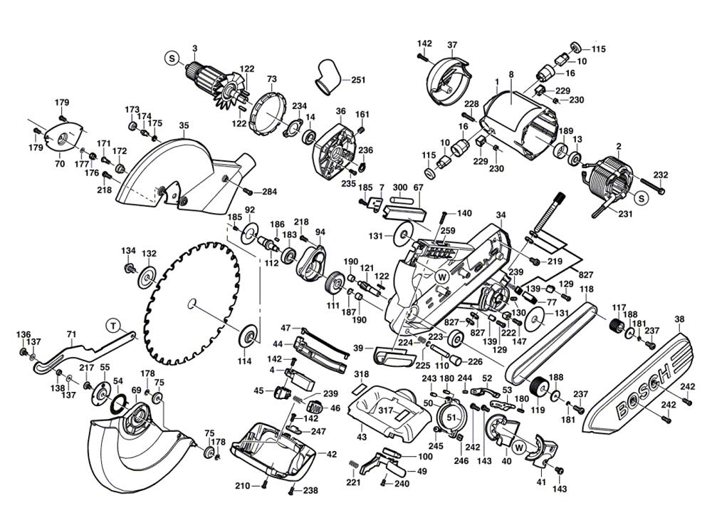 4412-(0601665039)-Bosch-PB-2Break Down