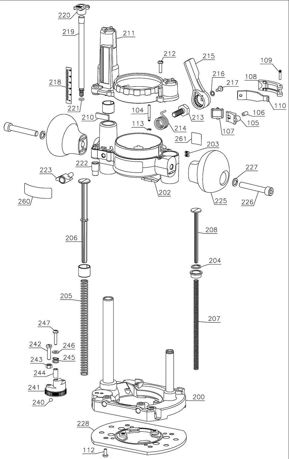 450PK-Dewalt-T1-PB-1Break Down