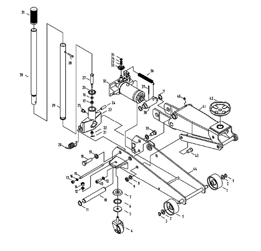 Hydraulic Press Parts Diagram Trusted Wiring Diagrams 3 Pump Otc Floor Jack House Symbols U2022 Motor
