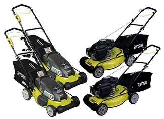 how to start ryobi electric lawn mower