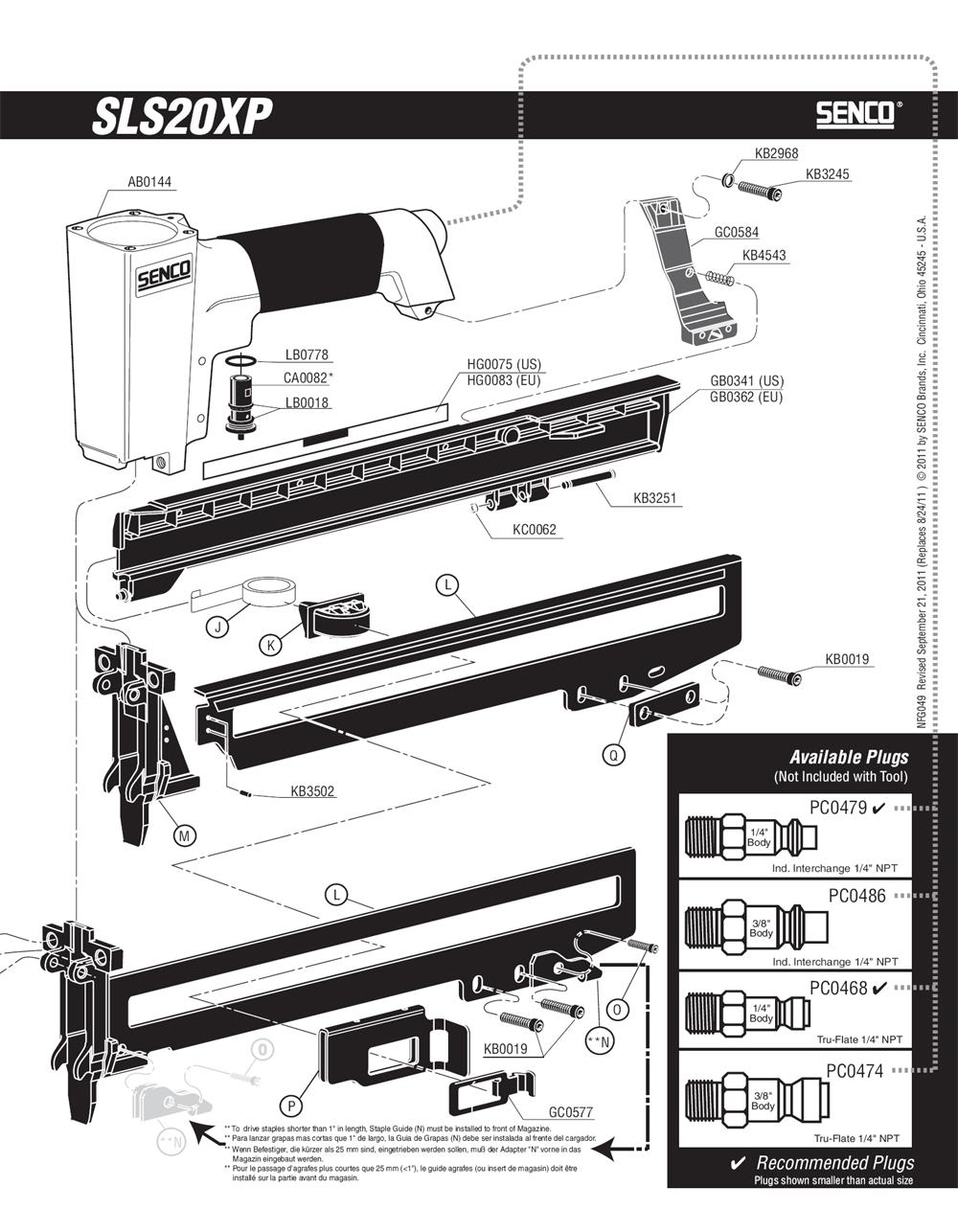 490103N-senco-PB-1Break Down