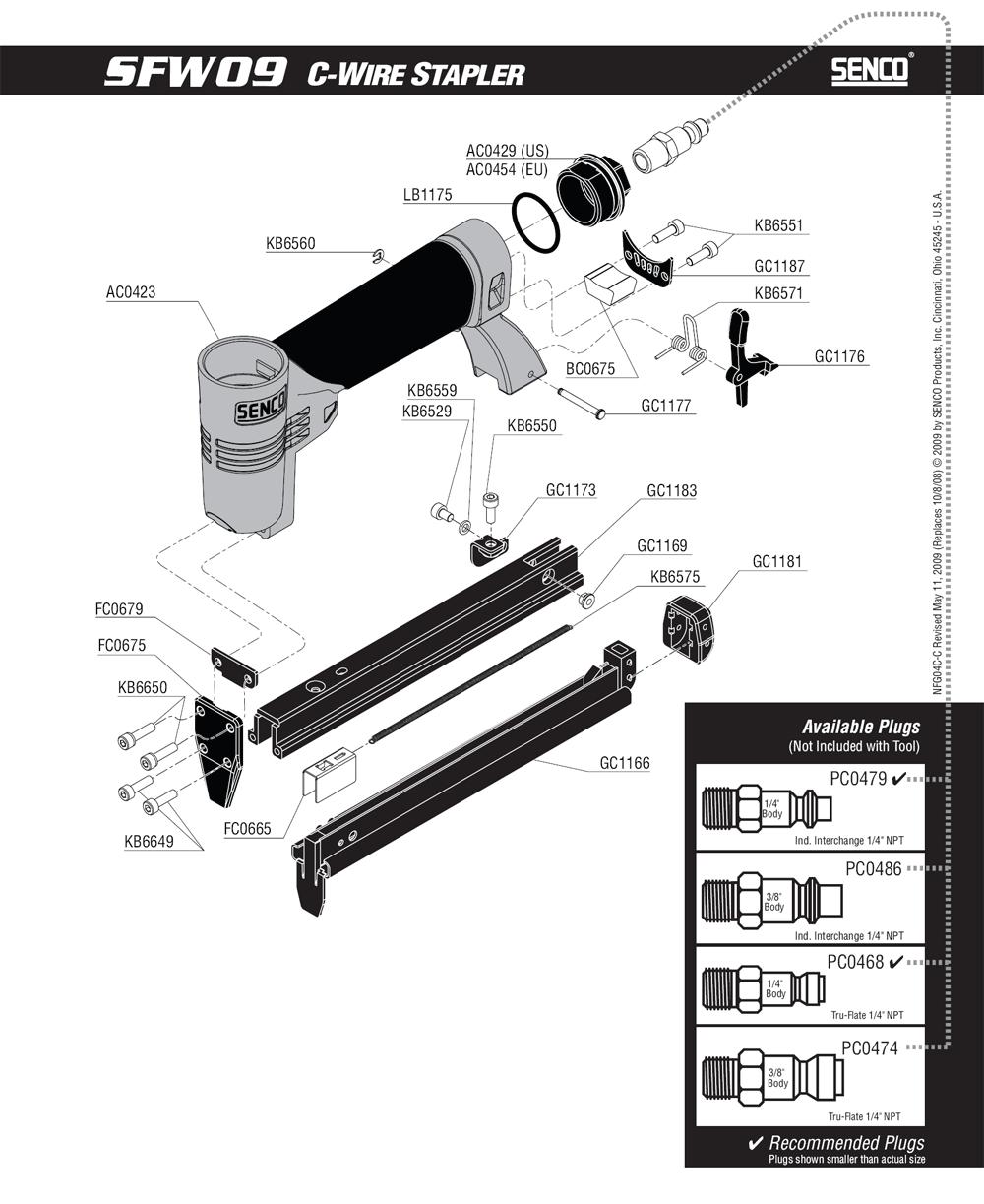 4C0012N-senco-PB-1Break Down