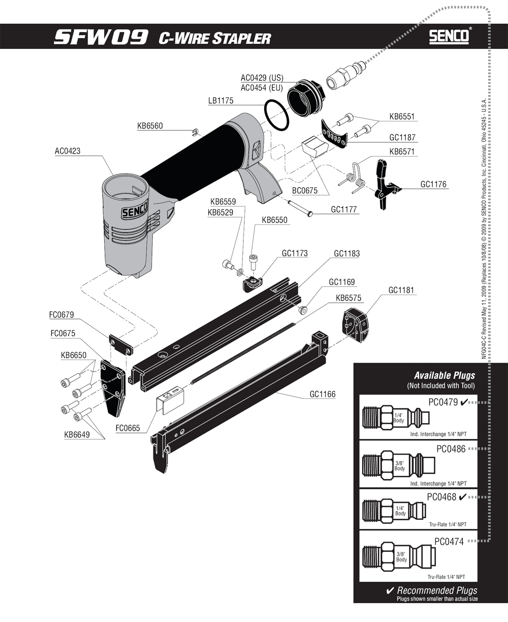 4C0061N-senco-PB-1Break Down