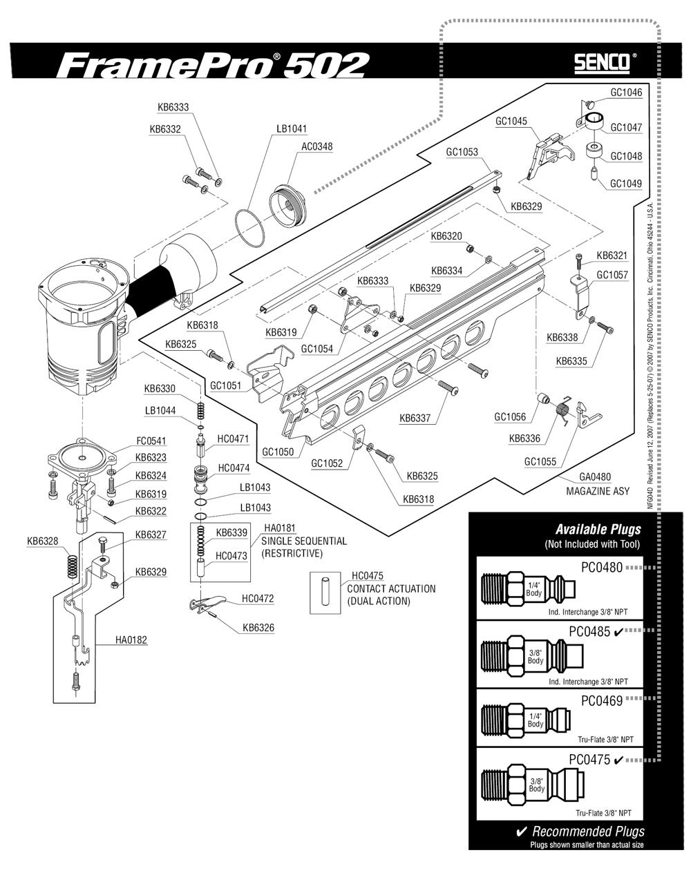 4D0001N-senco-PB-1Break Down