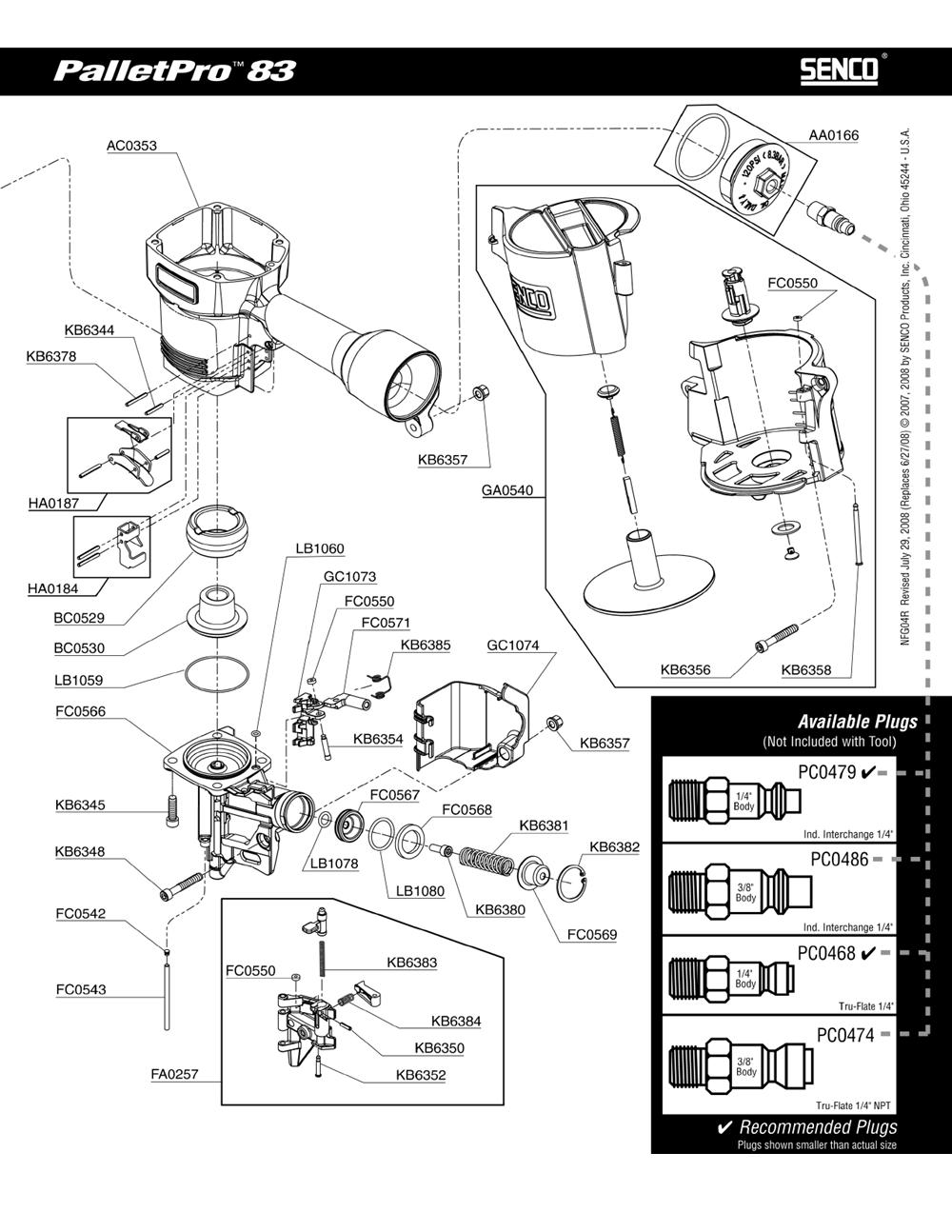 4F0207N-senco-PB-1Break Down