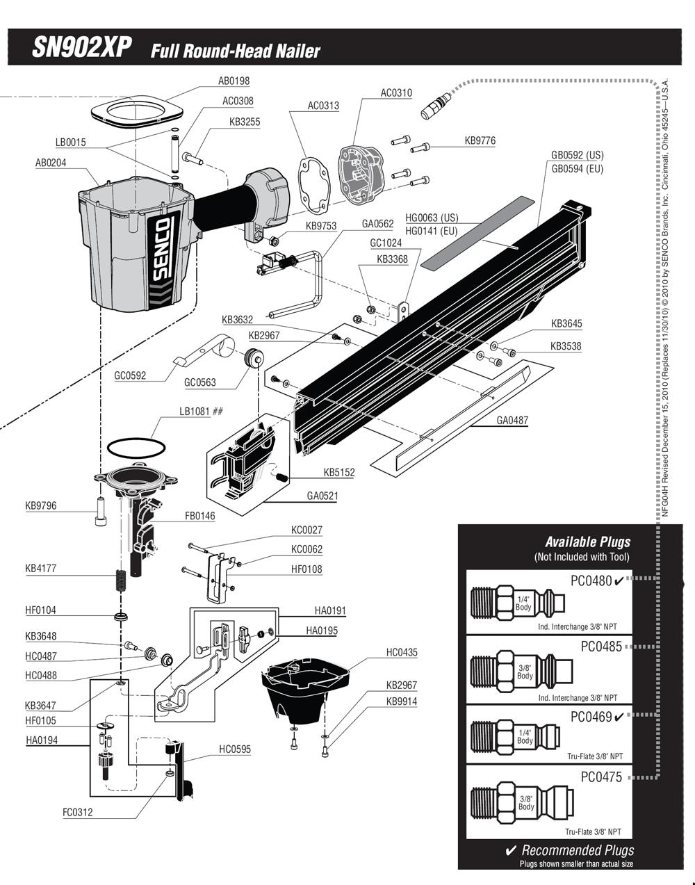 4H0001N-senco-PB-1Break Down