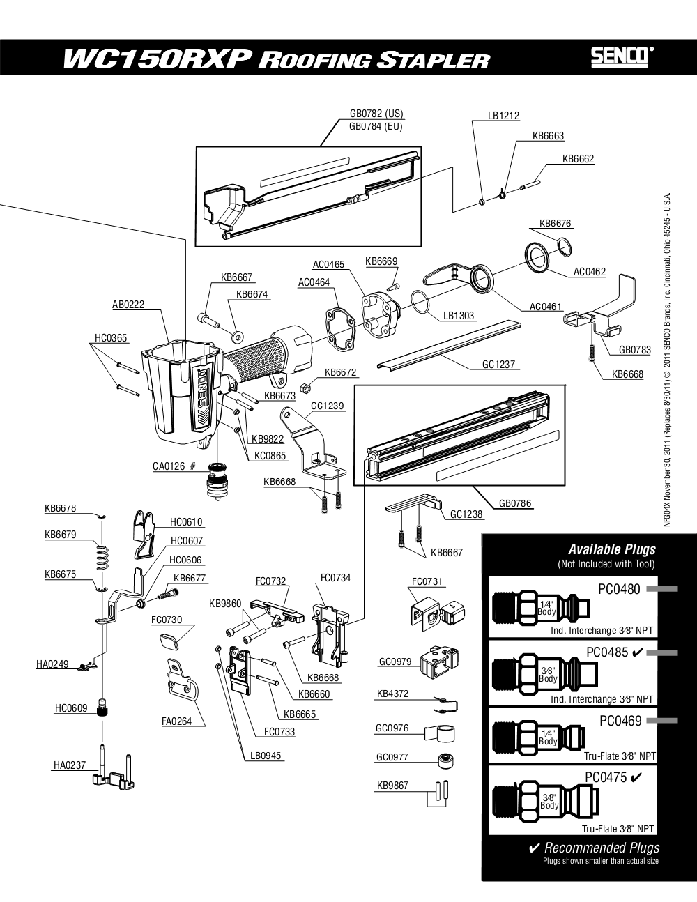 4X0001N-senco-PB-1Break Down