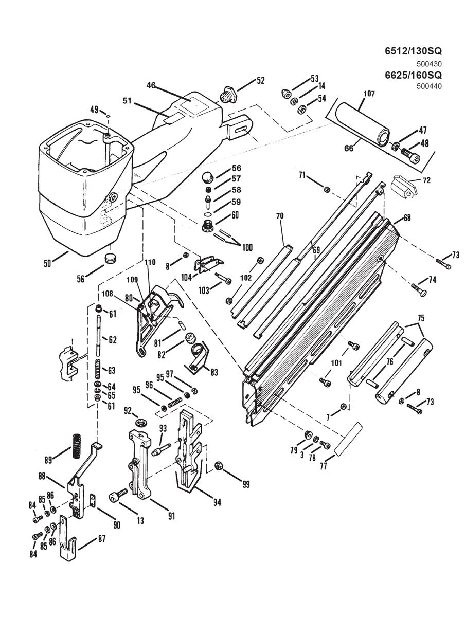 500440-Paslode-PB-1Break Down