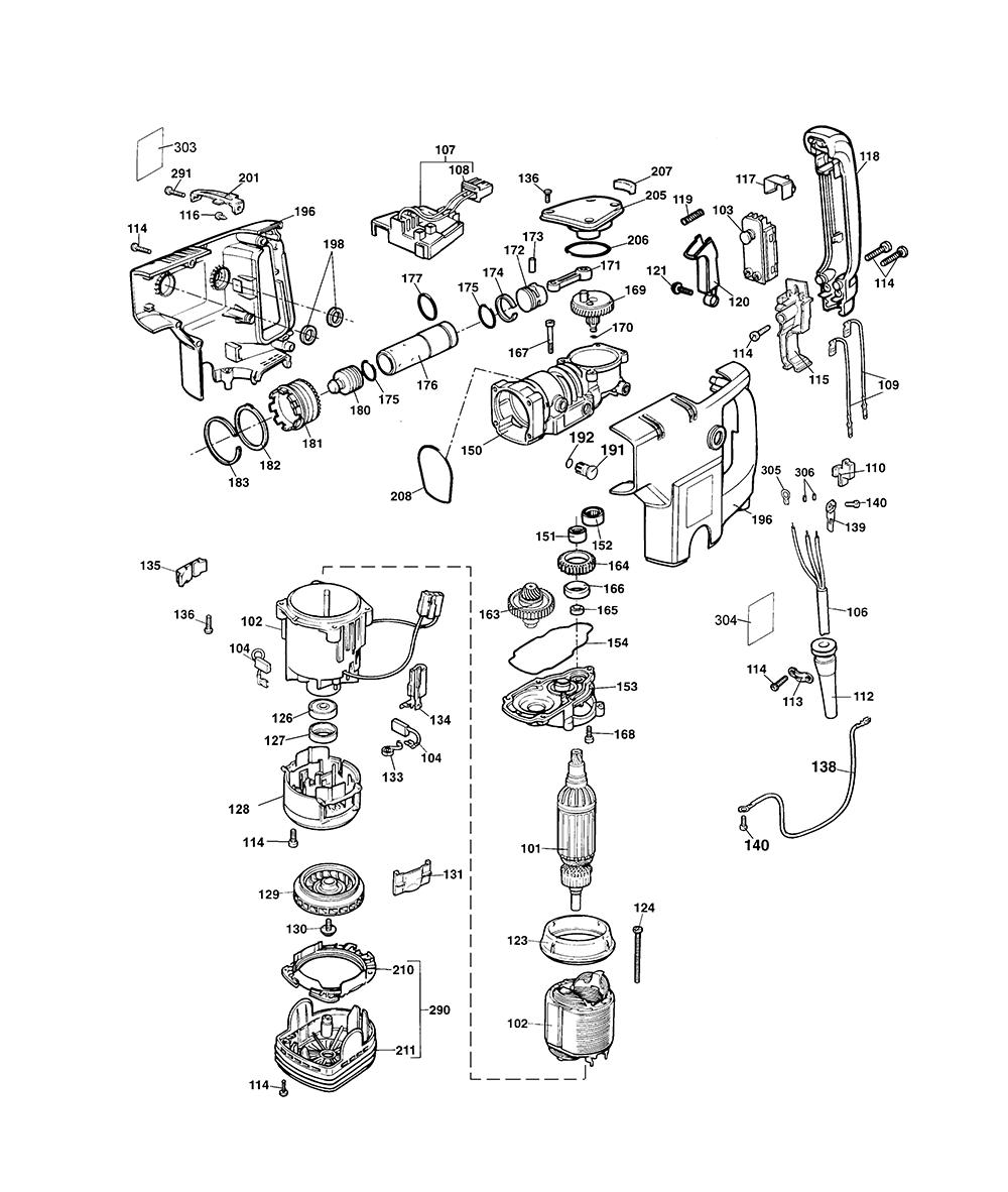 5095K-BlackandDecker-T101-PB-1Break Down