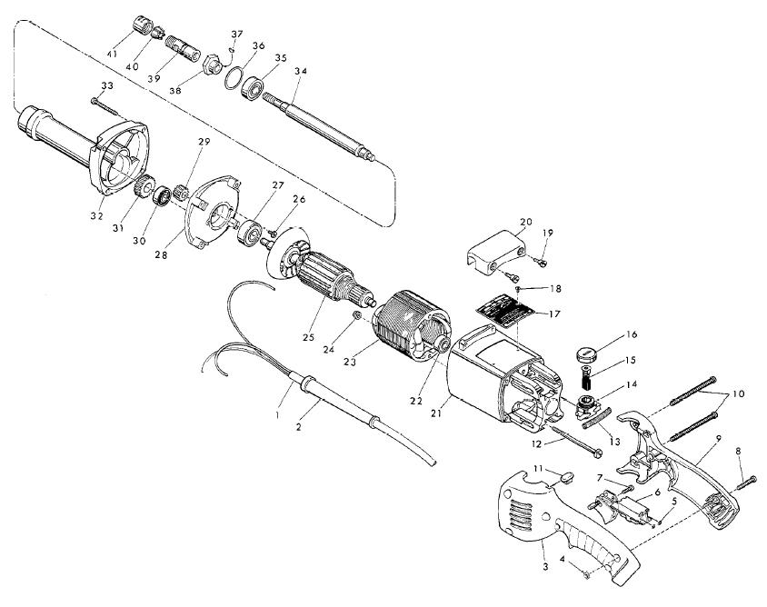 makita grinder wire diagram