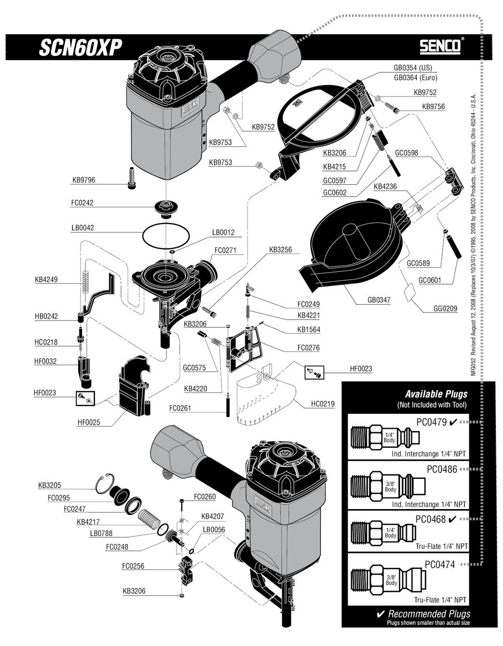 520101N-senco-PB-1Break Down