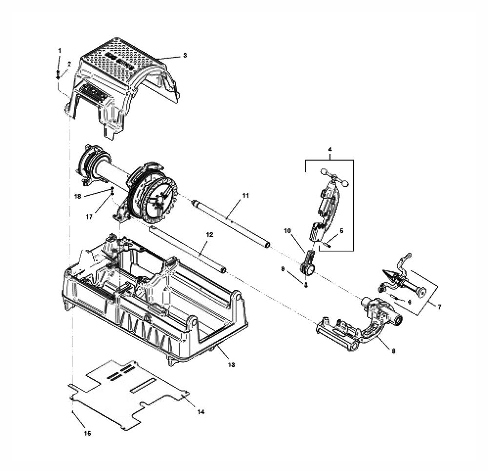 ruger mini 14 breakdown diagram