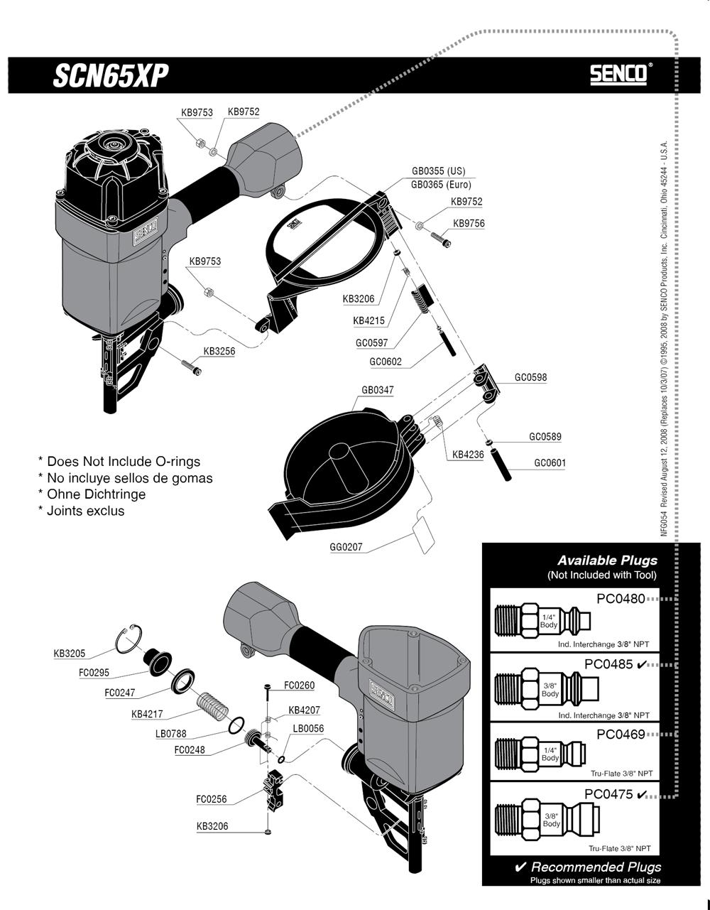 540101N-senco-PB-1Break Down