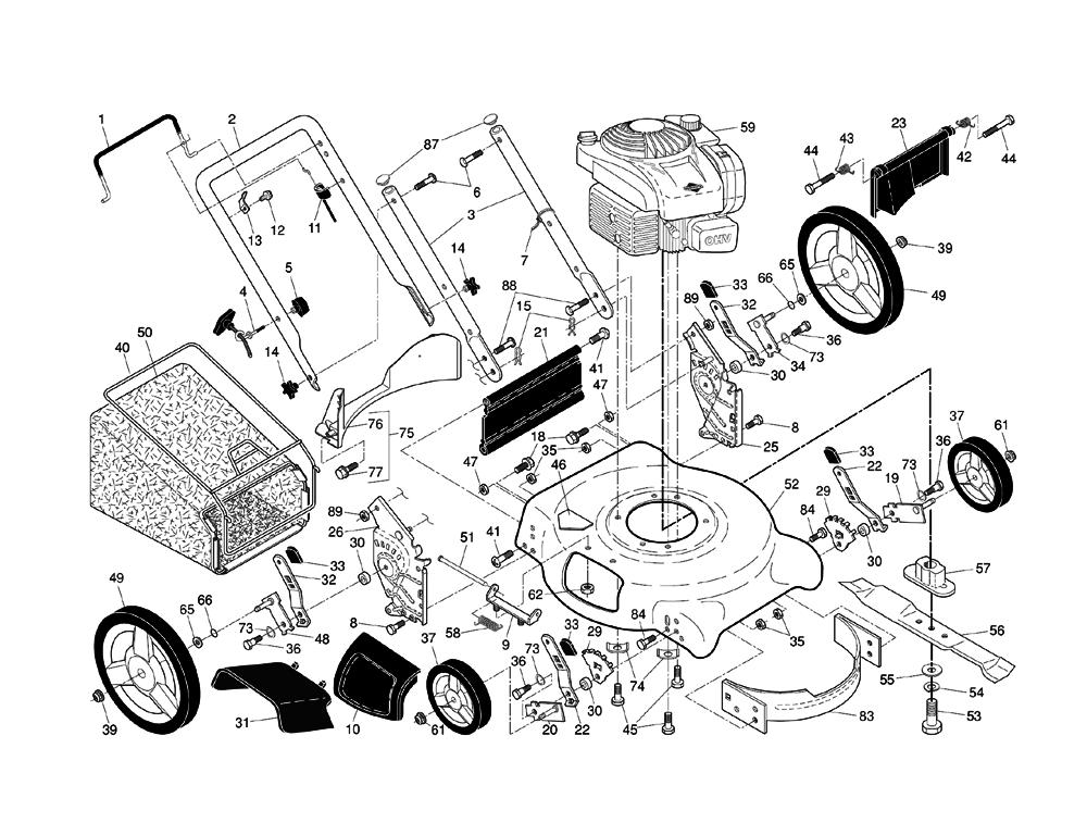 Husqvarna 5521p (96133002101) Parts