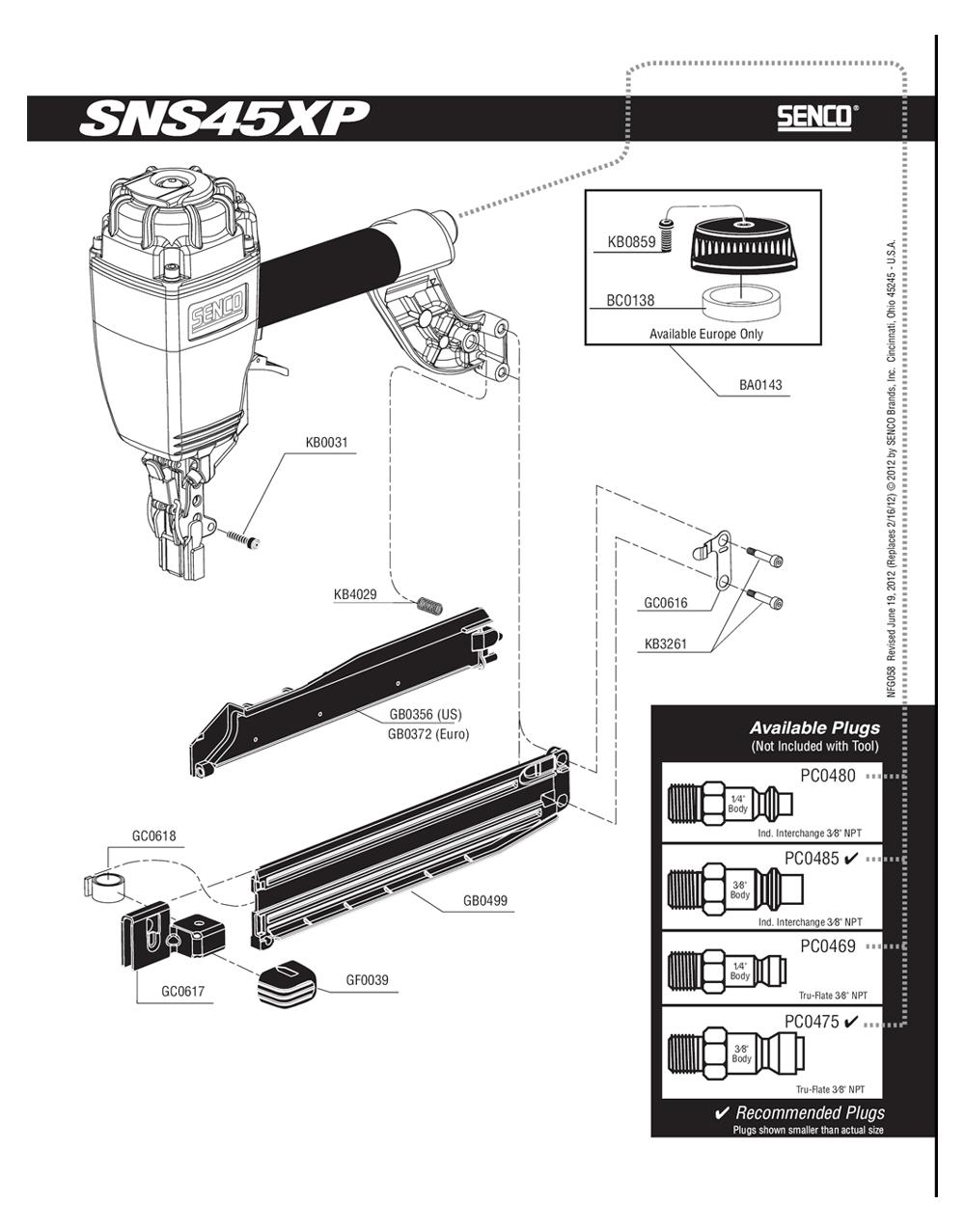 580101N-senco-PB-1Break Down