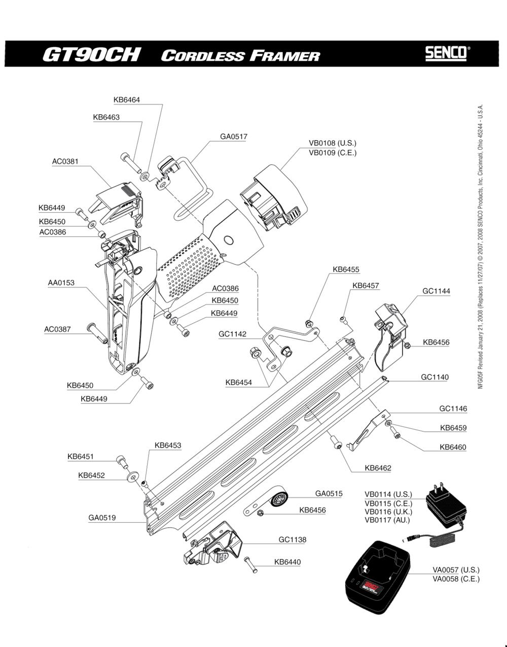5F0001N-senco-PB-1Break Down