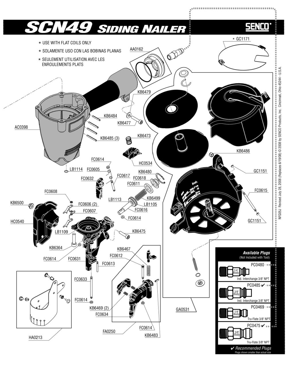 5J0001N-senco-PB-1Break Down