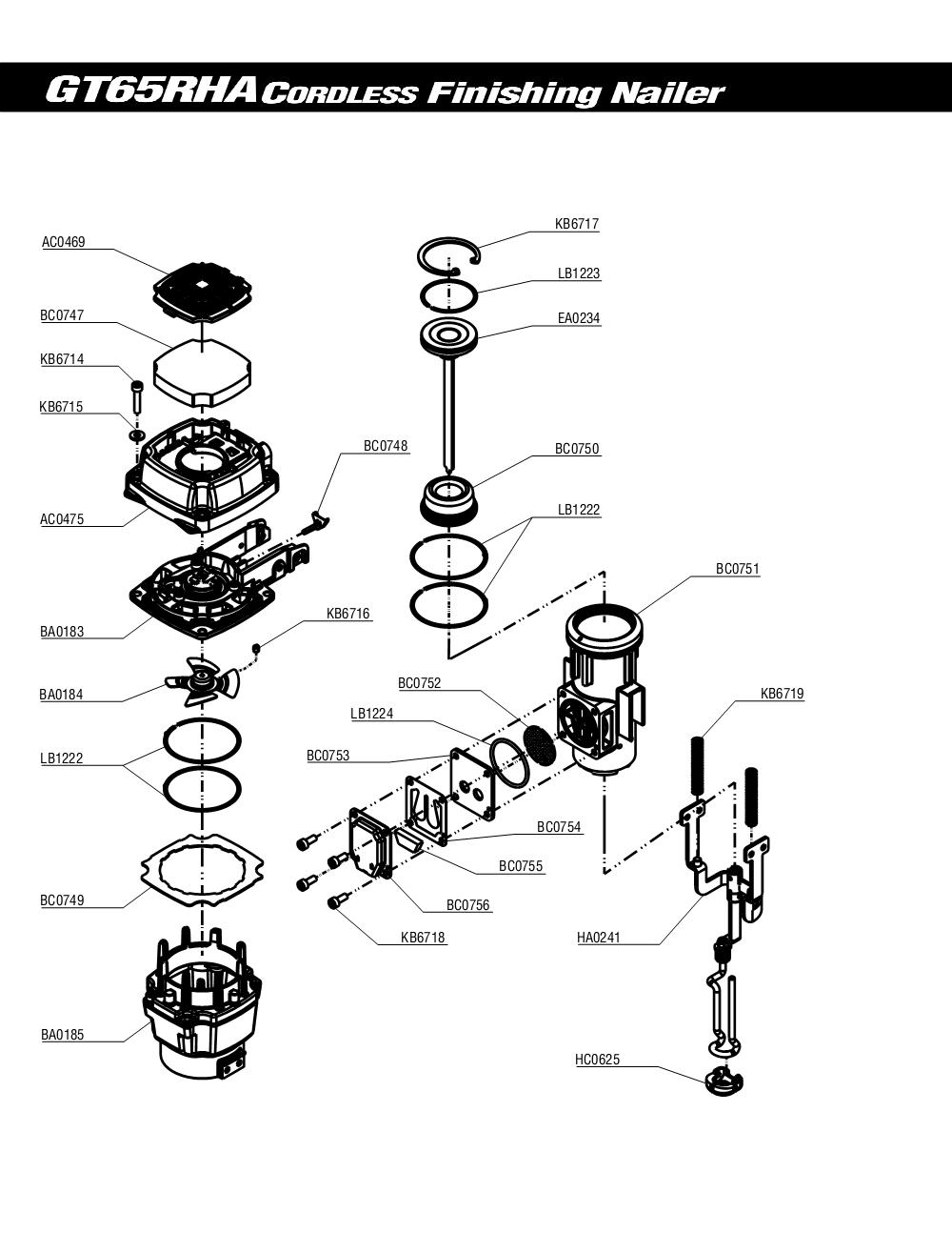 5S0001N-senco-PB-1Break Down
