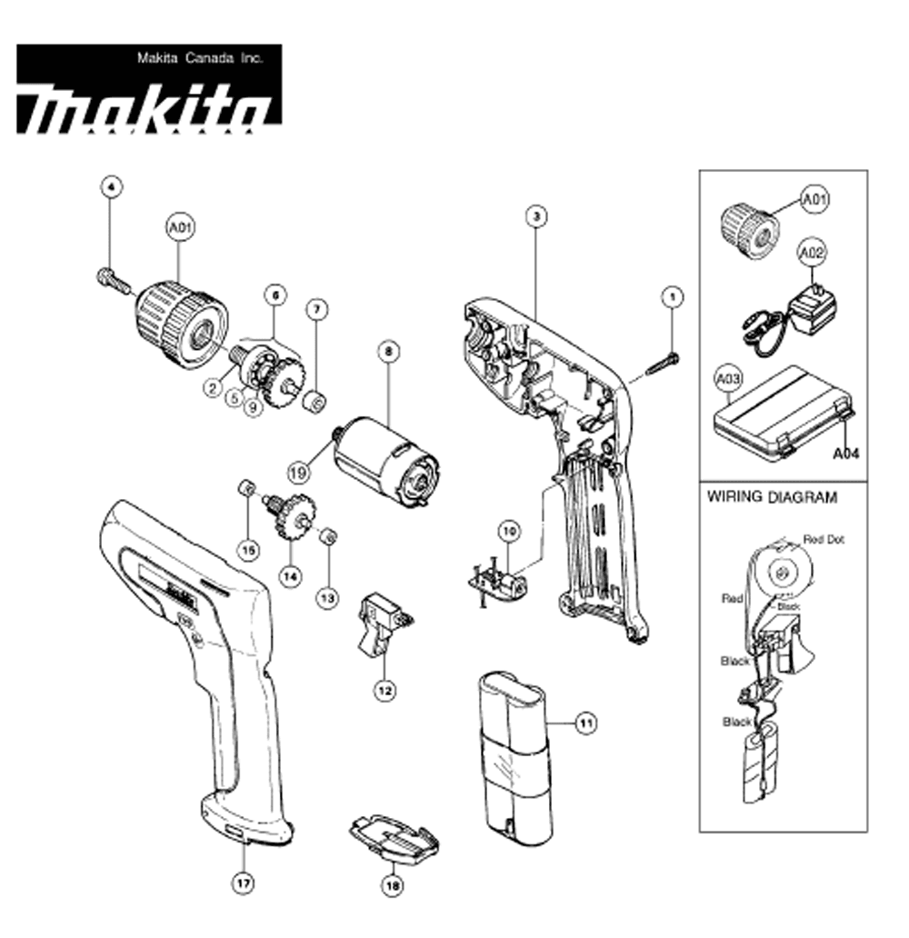 makita 6076dwk PB ics 300 ma8 wiring diagram,ma \u2022 woorishop co  at bayanpartner.co