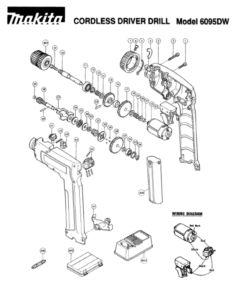 makita cordless drill parts diagram pictures to pin on pinterest Toro Wiring Diagrams  Romex Wiring Diagrams makita 9227c wiring diagram Ao Smith Wiring Diagrams