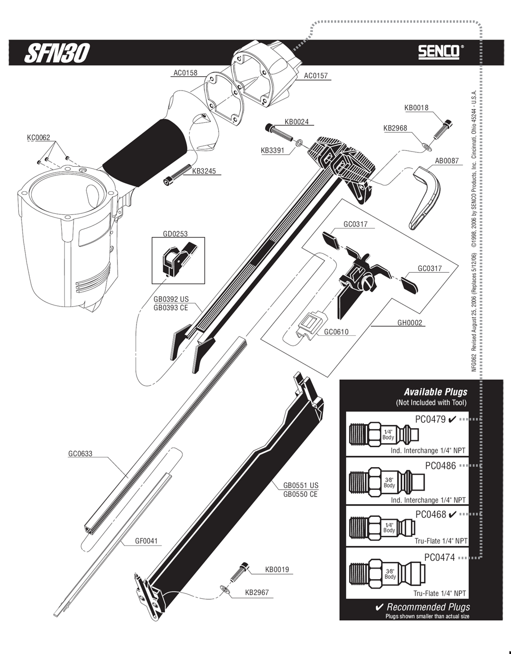 620002N-senco-PB-1Break Down