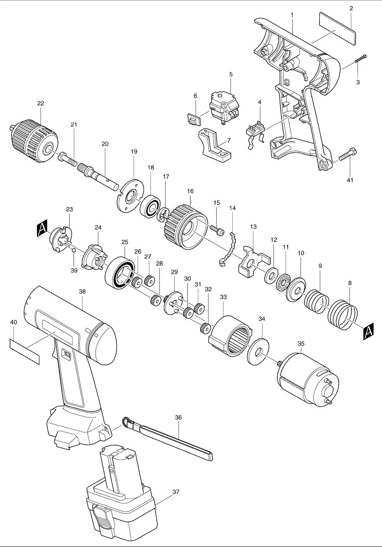 buy makita 6222d replacement tool parts
