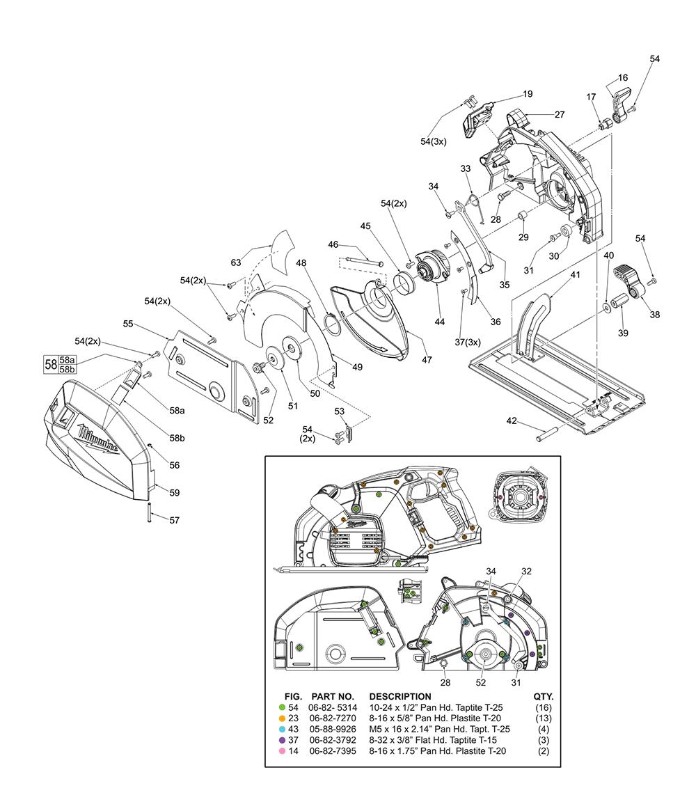 6370-21-(A35D)-Milwaukee-PB-1Break Down