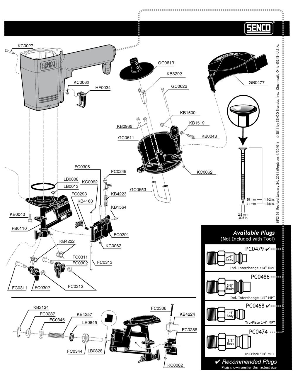 650004N-senco-PB-1Break Down