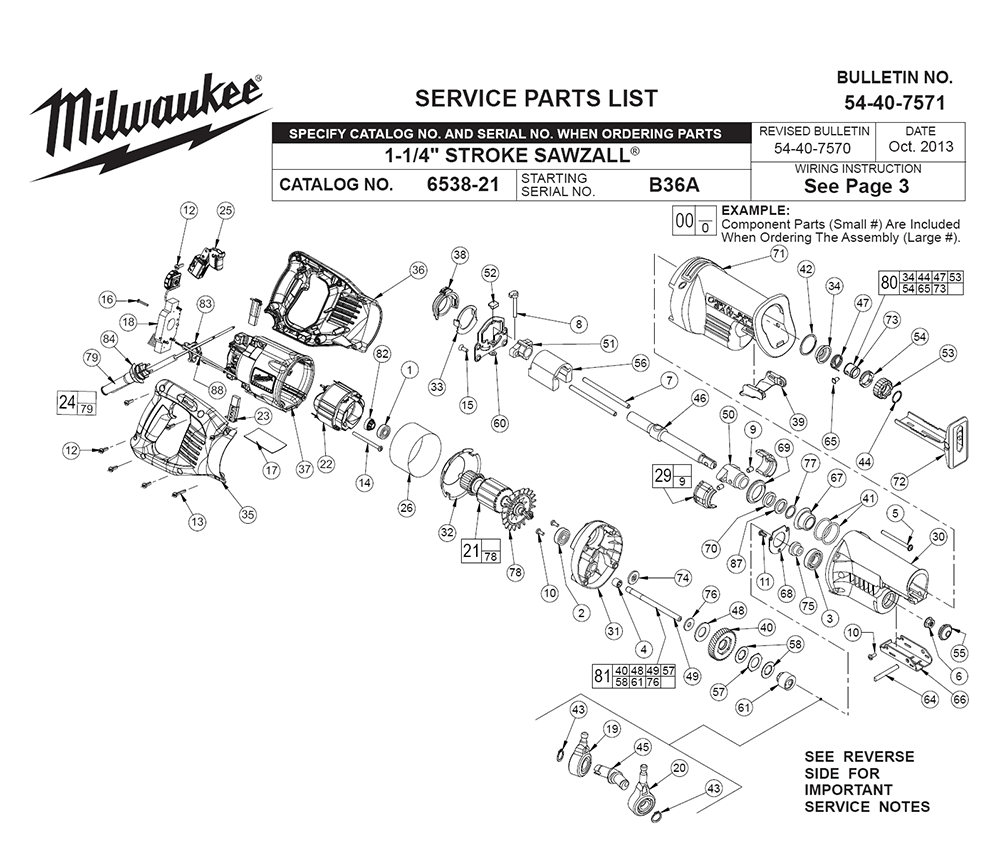 buy milwaukee 6538