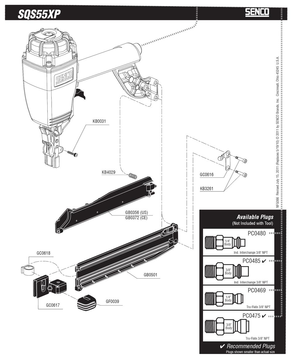 660101N-senco-PB-1Break Down